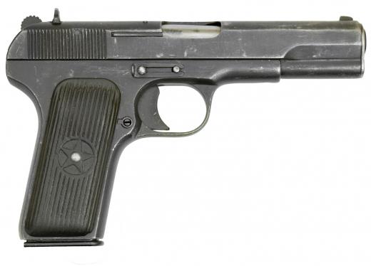 Оружие списанное охолощенное модели ТТ-33-O