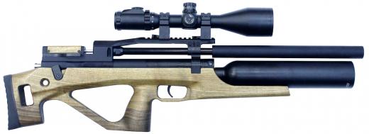 Пневматическая винтовка Егерь (Jæger) булл-пап с колбой SPR