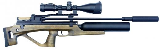 Пневматическая винтовка Егерь (Jæger) булл-пап с колбой SP
