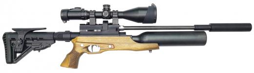 Пневматическая винтовка Егерь (Jæger) карабин тактический с колбой SP. Компакт